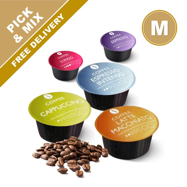 Medium, 12 packs - Dolce Gusto