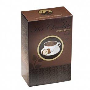 Hot chocolate pods for Nespresso.