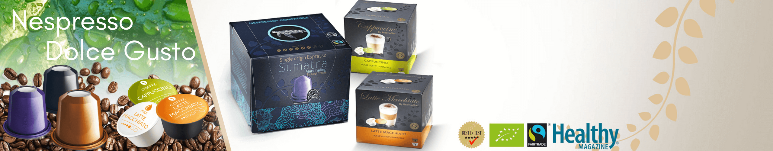 Recommended by Healthy Magazine, CoffeeBlog.co.uk and Thrive