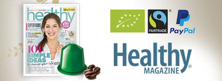 Healthy magazine recommends Real Coffee! Best in test!