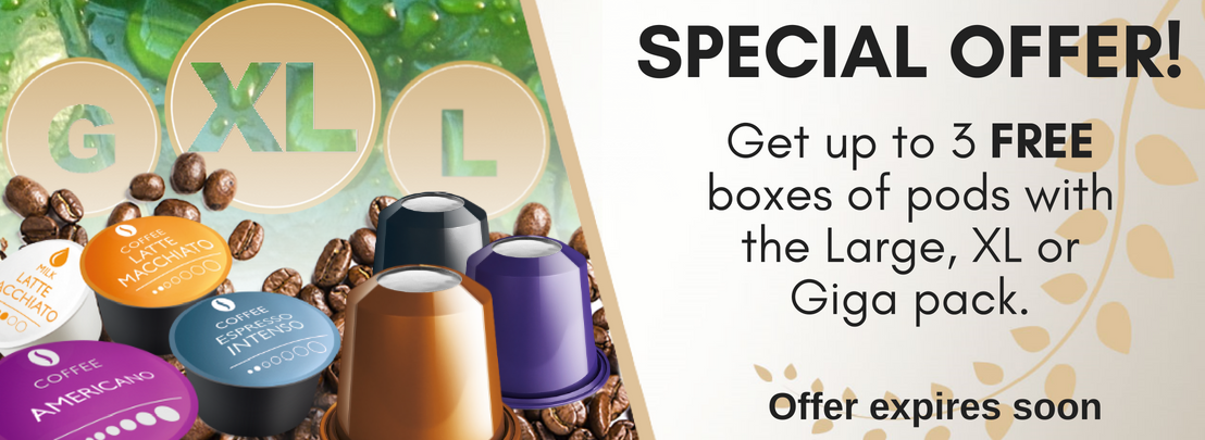 Nespresso capsules from Real Coffee. Award winning coffee capsules.