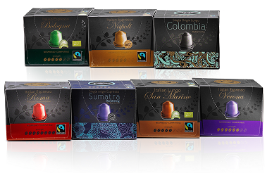 Wholesale - Nespresso Capsules and Nespresso pods