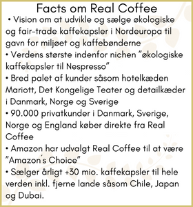 Facts om Real Coffee til journalister