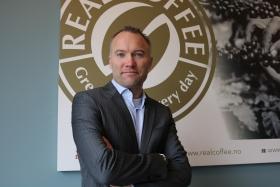 Lars Mansfeld-Giese, adm. direktør i Real Coffee.