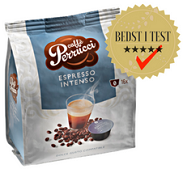 Espressokapsler til dolce gusto. Cremet og fyldig smag. Fra Real Coffee.