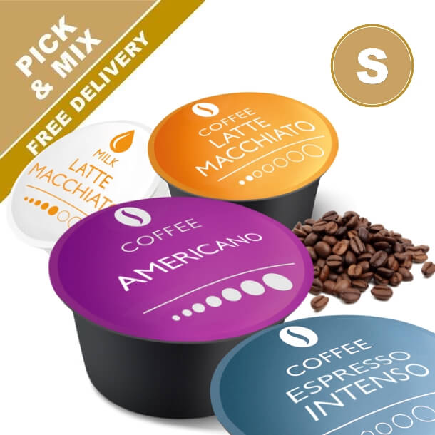 Dolce Gusto coffee capsules. Pick & mix from our many coffee capsule varieties rated #1 in tests. Real Coffee.