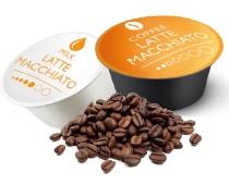 Cappuccino og Latte Macchiato kaffekapsler og mælkekapsler til Dolce Gusto. Fra Real Coffee