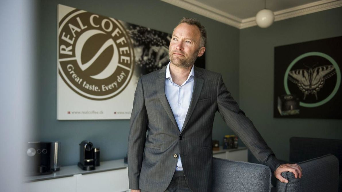 Lars Mansfeld-Giese, Administrerende direktør for Real Coffee