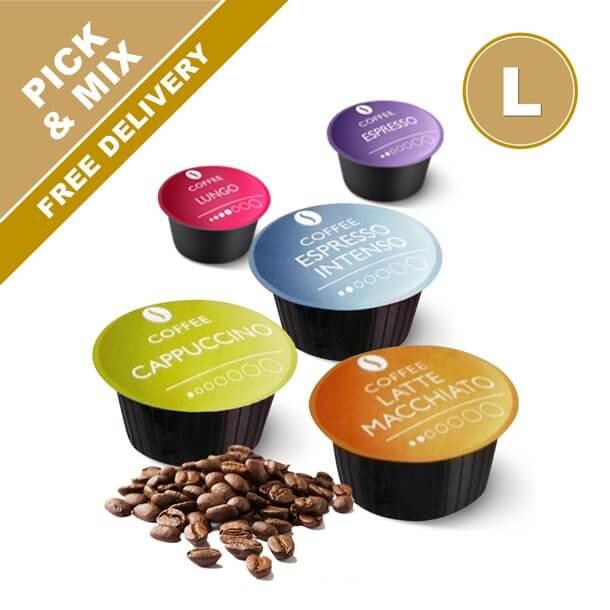 Dolce Gusto Compatible coffee capsules. Pick & mix from our many coffee pod varieties rated #1 in tests. Real Coffee.