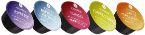 Dolce Gusto compatible capsules. Buy best in test coffee pods. Real Coffee.