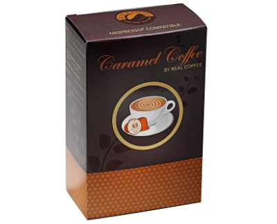 Real Coffee's espresso with caramel features the decadent taste of caramel in every cup, without the need for extra syrups.