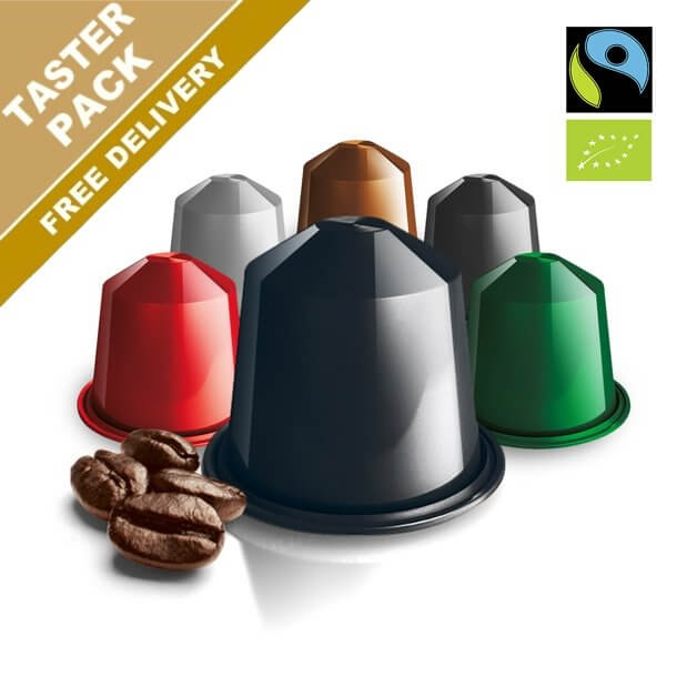 Nespresso Compatible Pod Packs - Great deals on capsules. Real Coffee.