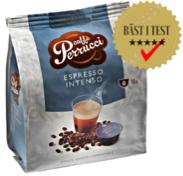 Real Coffee kan erbjuda två olika typer av espresso samt en utsökt lungo till Dolce Gusto-maskiner med testvinnande kaffe.