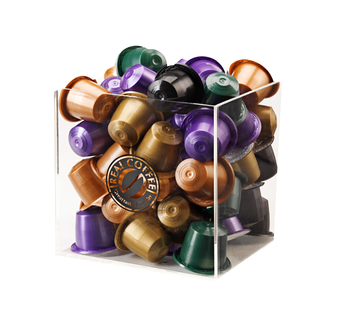 Giga pack 550 capsules real coffee nespresso compatible pods best in - Rangement capsule nespresso ...