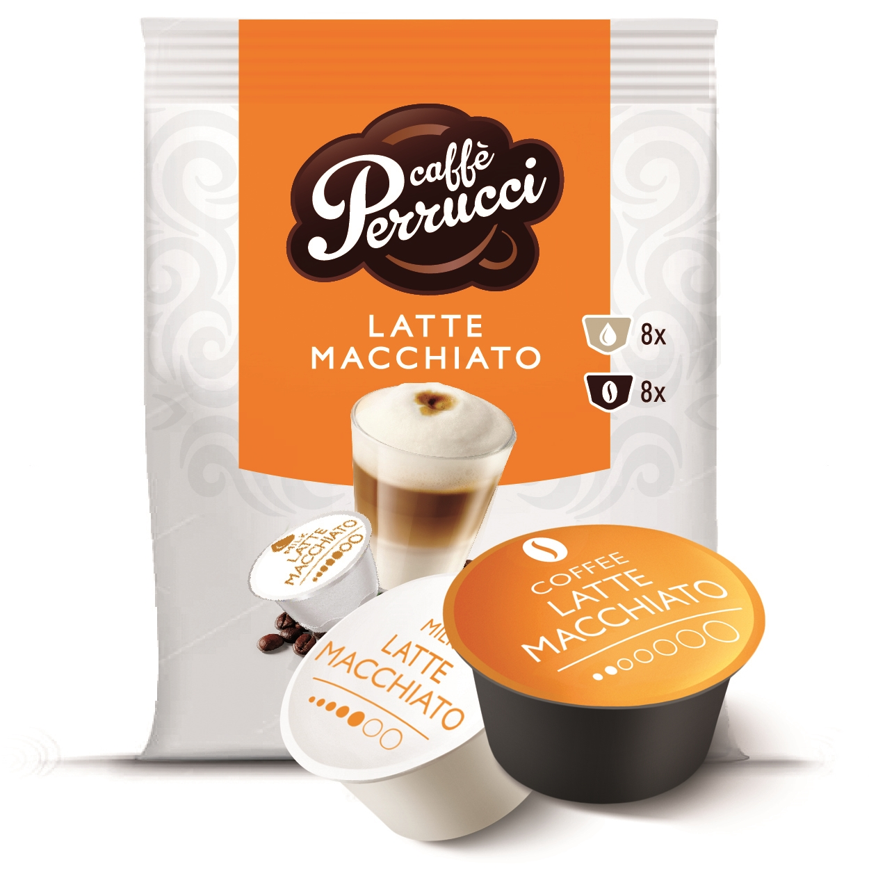 latte macchiato dolce gusto pods for dolce gusto with taste test winning coffee real coffee. Black Bedroom Furniture Sets. Home Design Ideas